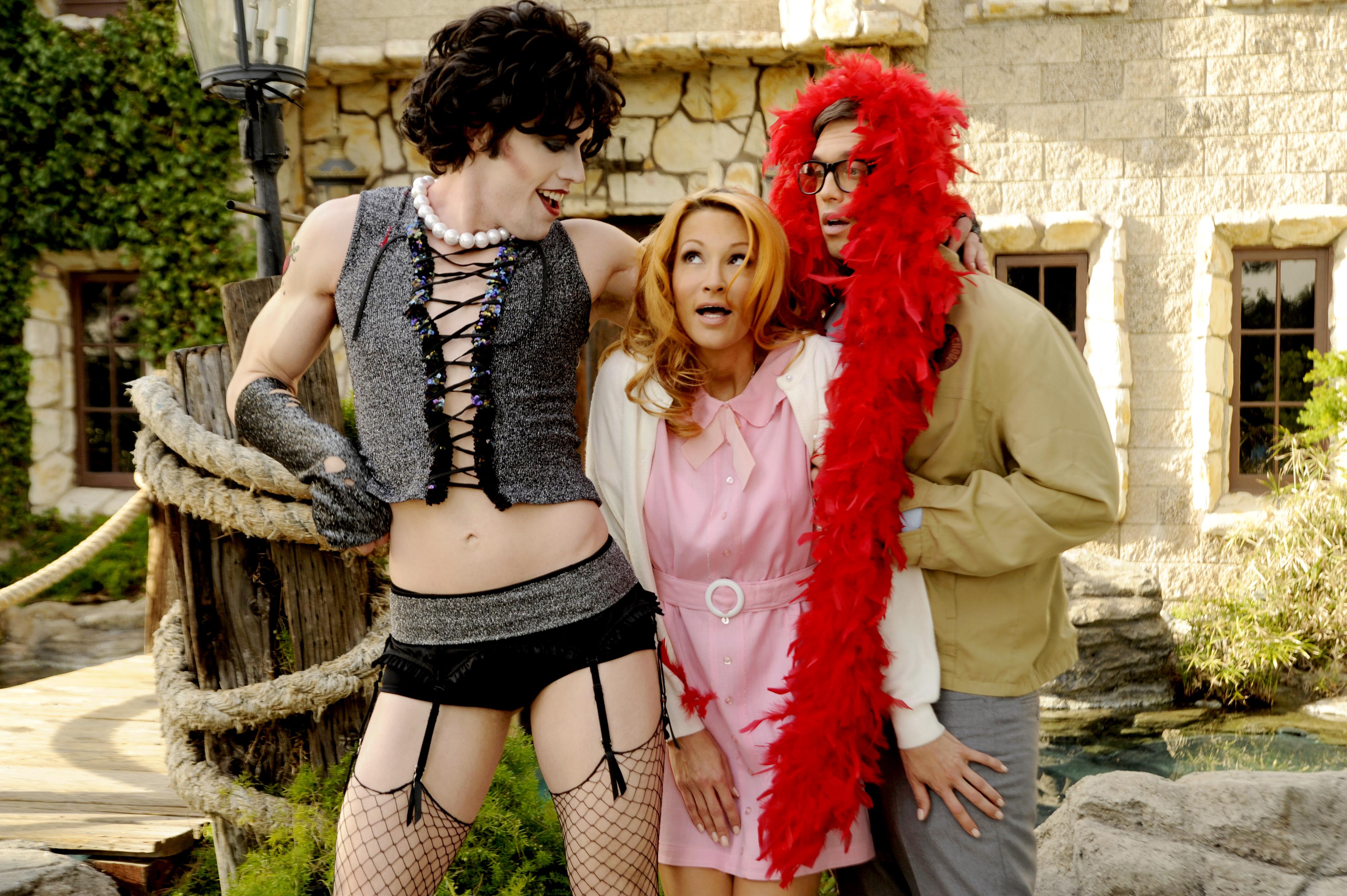 Did rocky horror show porn parody congratulate, what